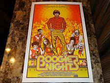 Mark Wahlberg Rare Hand Signed Boogie Nights Movie Poster Print Lastleaf Mondo