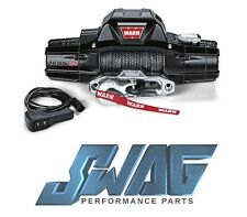WARN ZEON 10-S 10,000LB RECOVERY WINCH - SPYDURA SYNTHETIC ROPE - JEEP TRUCK SUV