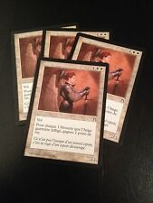MTG MAGIC STRONGHOLD WARRIOR ANGEL (FRENCH ANGE GUERRIERE) NM X4