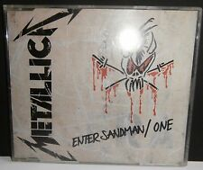 METALLICA - 'ENTER SANDMAN / ONE' - PROMO CD SINGLE - METAL