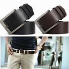 Fashion Men's WaistBand Leather Classic Casual Dress Pin Belt Waist Strap Belts