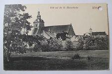 St. Marien  Wittstock Dosse um 1920 , alte Ansichtskarte