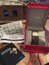 Beautiful Guess Tortoise Shell & Gold Ladies Watch. PRICE REDUCED��