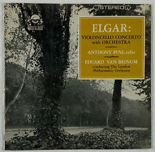 Elgar: Cello Concerto/Pini & Van Beinum/Everest Stereo 3141 Sealed EX