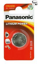 PANASONIC CR2430 3V Lithium Coin Cell Battery - Box of 12 - CR2430L-BOX12