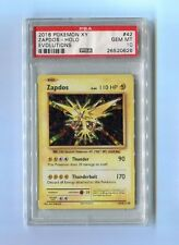 Pokemon PSA 10 GEM MINT ZAPDOS 42/108 RARE HOLO - XY Evolutions