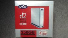 LACIE D2 HARD DRIVE EXTREME NEVER USED WITH BOX ETC.