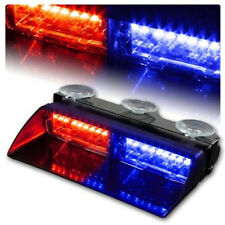 16 LED Car Truck Dash Police Windshield Warning Emergency Strobe Flash Light
