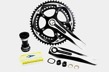 Aerozine X13 Road Cyclocorss CX Bike Crankset 10 11 Speed 50/34t 170mm 175mm