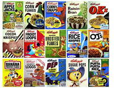 KELLOGGS CEREAL PHOTO-FRIDGE MAGNETS #3 OF 4 SETS