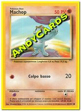 MACHOP 52/102 - COMUNE - SET BASE - POKEMON - ANDYCARDS