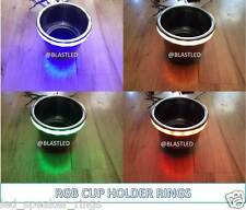 RGB LED Cup Holder light Ring for Boats/RV (MasterCraft, Moomba, Supra, Malibu)