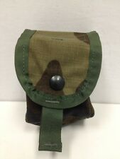 US MILITARY WOODLAND CAMO GRENADE POUCH UTILITY POUCH SPECIALTY DEFENSE NEW