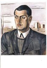 Arte tarjeta postal-salvador dalí: efigie Luis Buñuel