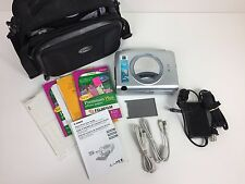 Canon SELPHY CP600 Digital Photo Thermal Printer /w Paper & Carry Case