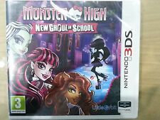 Monster High New Ghoul in School NEW Nintendo 3DS