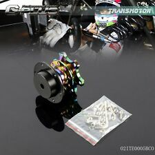 Steering Wheel Quick Release Hub Adapter Removable Snap Off Boss NEO CHROME Kit
