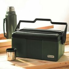Stanley Lunch Box With Thermos Set Vacuum Bottler 7 Quart Cooler Locking Handle