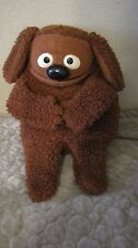 VTG 1977 FISHER-PRICE ROWLF DOG HAND PUPPET JIM HENSON MUPPET DOLL 852 17""