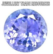 NATURAL LOOSE VIOLET TANZANITE ROUND BRILLIANT CUT 2.25mm GEMSTONE GENUINE GEMS