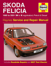 HAYNE SKODA FELICIA 95-01 M TO X REGISTARION PETROL AND DIESEL