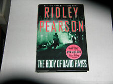 The Body of David Hayes by Ridley Pearson (2004) SIGNED 1st/1st