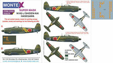 Montex 1/32 masks, decals & markings N1K2-J Shiden-Kai for Hasegawa - k32276