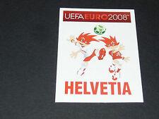 N°46 MASCOTTES SUISSE SCHWEIZ SVIZZERA PANINI FOOTBALL UEFA EURO 2008