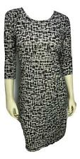 New! DESIGNER SIZE Large UPSCALE FASHION SOFT CAREER CASUAL WOMENS GRAY DRESS