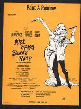 Paint A Rainbow 1964 What Makes Sammy Run Steve Lawrence Sally Ann Howes