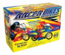 Faber-Castell Creativity for Kids Racer Bikes Design Shop paint & style your own