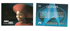 Star Trek TNG Season 2  Embossed Foil Chase Card  S10 Guinan