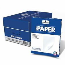 "5000 Sheets Ten Ream Case Copy Paper 20lb, 92 Bright, 8-1/2 x 11"" NEW"
