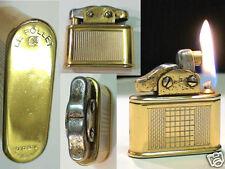 Briquet Ancien - Le FOLLET semi automatique - Fuel Lighter Feuerzeug Accendino