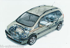 Opel Zafira Fuell Cell concept car orig Werksfoto Foto 2/00 21 x 14,7 cm (int 1)