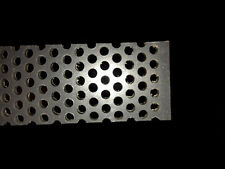 """PVC Type I Perforated Sheet, 3/16"""" Thick x 32"""" x 48"""", 3/16"""" Dia Hole, Staggered"""
