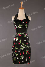 Plus Size SUMMER Vintage Style 1950s RETRO Housewife Swing Pin up Evening Dress