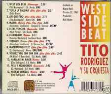 Mega RARE cd SALSA Tito Rodriguez WEST SIDE BEAT charanga GUARACHA cha cha cha