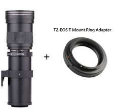 Professional 420-800mm F/8.3-16 Telephoto Zoom Lens For Canon Nikon DSLR Camera