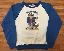 RARE vintage 80's GARBAGE PAIL KIDS frankenstein sweatshirt t-shirt S cards gpk