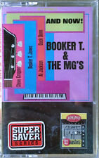 BOOKER T. & THE MG'S - & NOW- RHINO - ATL. & ATCO SERIES - CASSETTE TAPE -SEALED