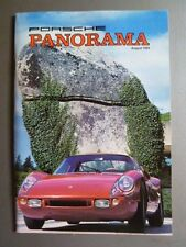 August 1984 Porsche PCA Panorama Magazine August 1984 RARE!! Awesome L@@K