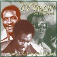 O.V. Wright - The Complete On Hi Records vol 2 Live In japan - New Factory  CD