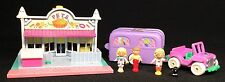 Polly Pocket Mini ��  1993 Pet Shop & 1996 Pet surgery on the go
