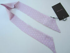 Paul Smith Women / Ladies Skinny Neck Tie / Scarf 100% Silk Made in Italy