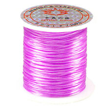 "66FT ""CRYSTAL"" LAVENDER STRETCH ELASTIC BEADING CORD"