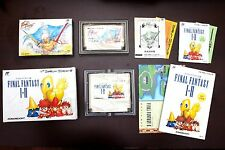 Famicom FC FINAL FANTASY 1.2 3 I.II III (I+II) Boxed Japan NES game US Seller