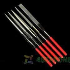Diamond Needle File Set 5Pcs Jewelers Ceramic Metal Glass Hobby Repair Tool 14cm