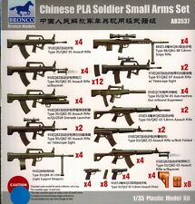 Bronco Models - AB 3537 PLA Soldier Small Arms Set - 1:35