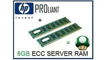 8GB (2x4GB) ECC Memory Ram Upgrade for HP Proliant ML110 G6/G7 Server